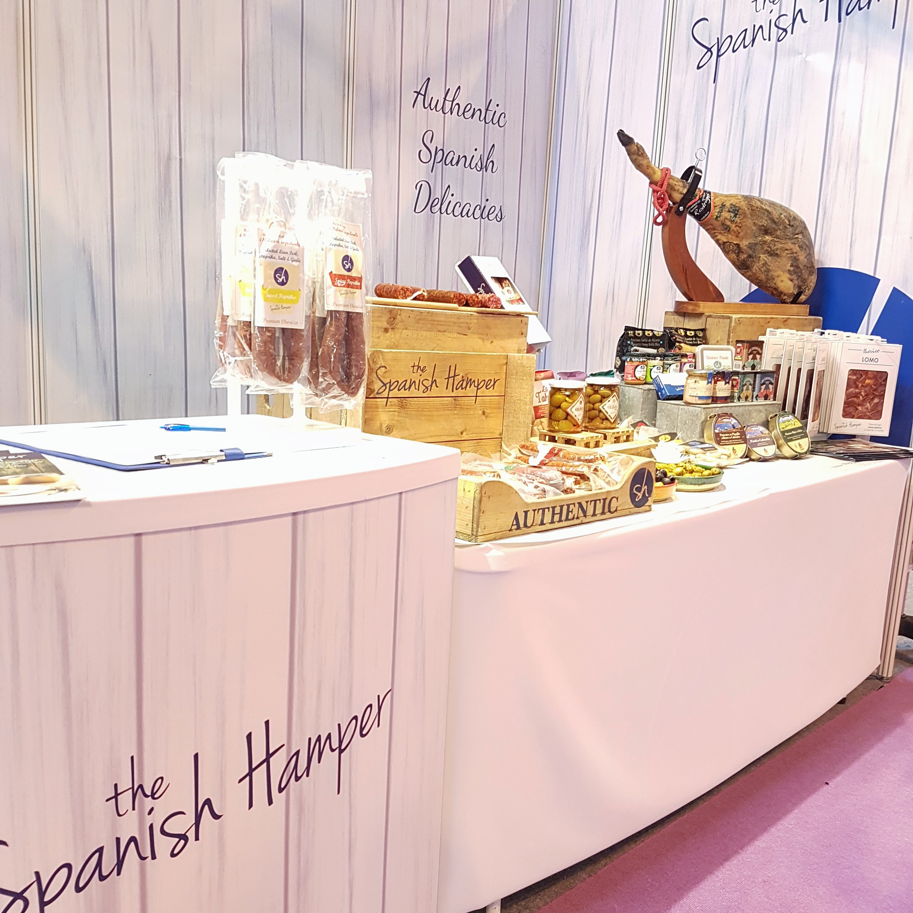 The Spanish Hamper at NEC Birmingham