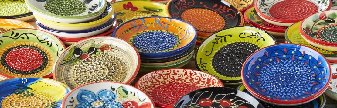 Garlic Grater Plates and Ceramic Kitchenware