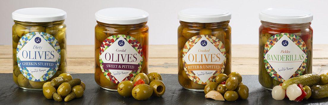 The Spanish Hamper olives