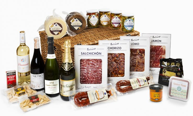 The Spanish Hamper corporate food and wine gifts