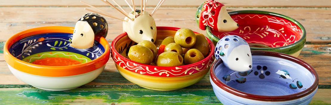 The Spanish Hamper ceramic olive bowl