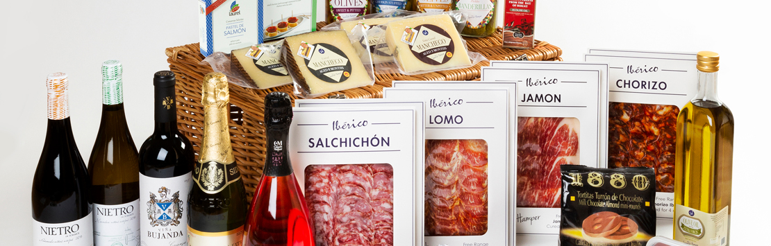 The Spanish Hamper food and wine online gifts