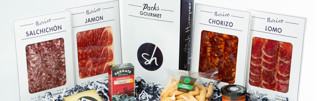 The Spanish Hamper Gourmet pack