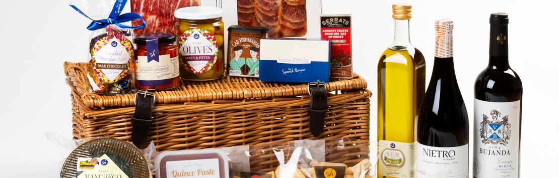 Gourmet food and wine gifts UK