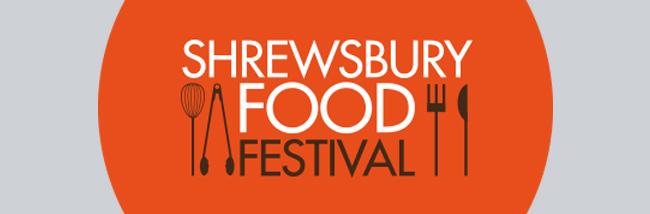 Shrewsbury food and drink festival logo